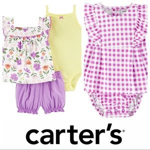 CARTER'S NWT 3 Month Girl Summer Clothing Bundle